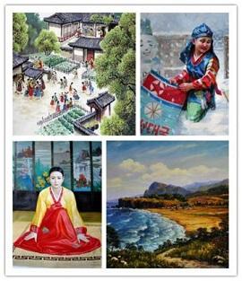 朝鲜艺术家作品展